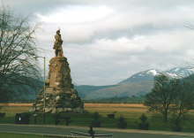Aberfeldy, The Black Watch Memorial, Perthshire © Bill Henderson